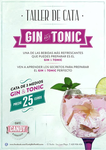 20 de septiembre en Candy Buffet Alicante