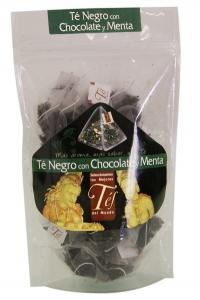 te negro con chocolate y menta 40 p